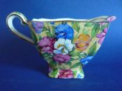 Lovely Grimwades Royal Winton 'Sweet Pea' Chintz Ascot Jug c1936